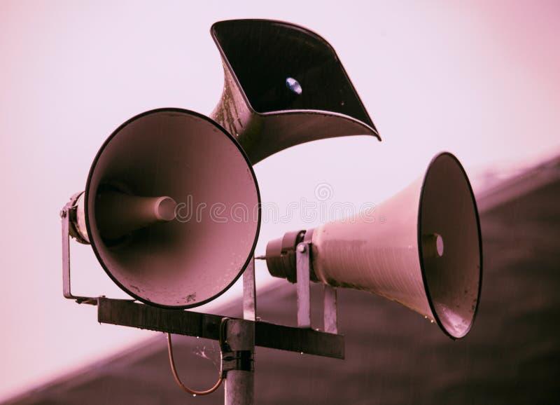 megafoon royalty-vrije stock afbeelding