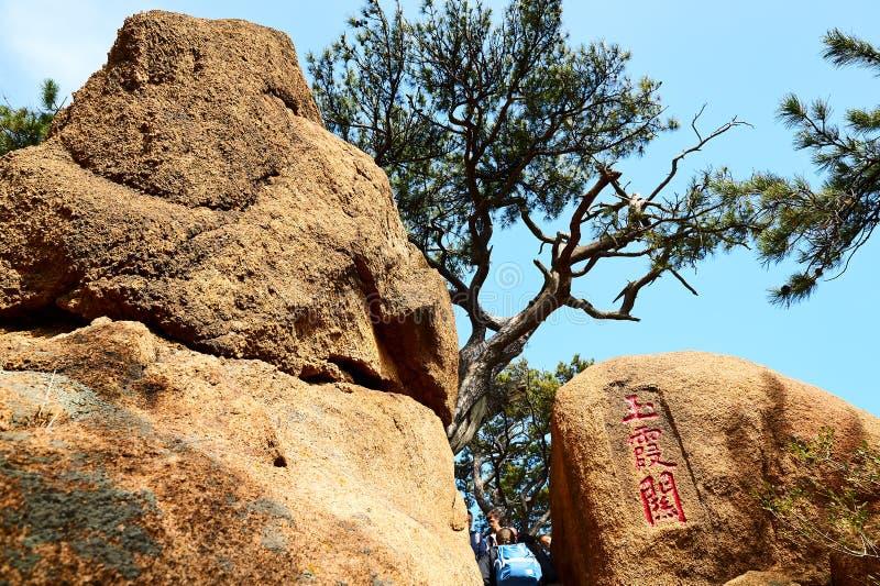 Megalit i zdjęcie stock