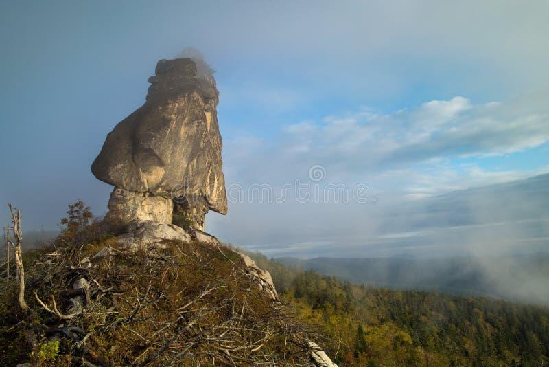 Megalit nazwany Szaman zdjęcia stock