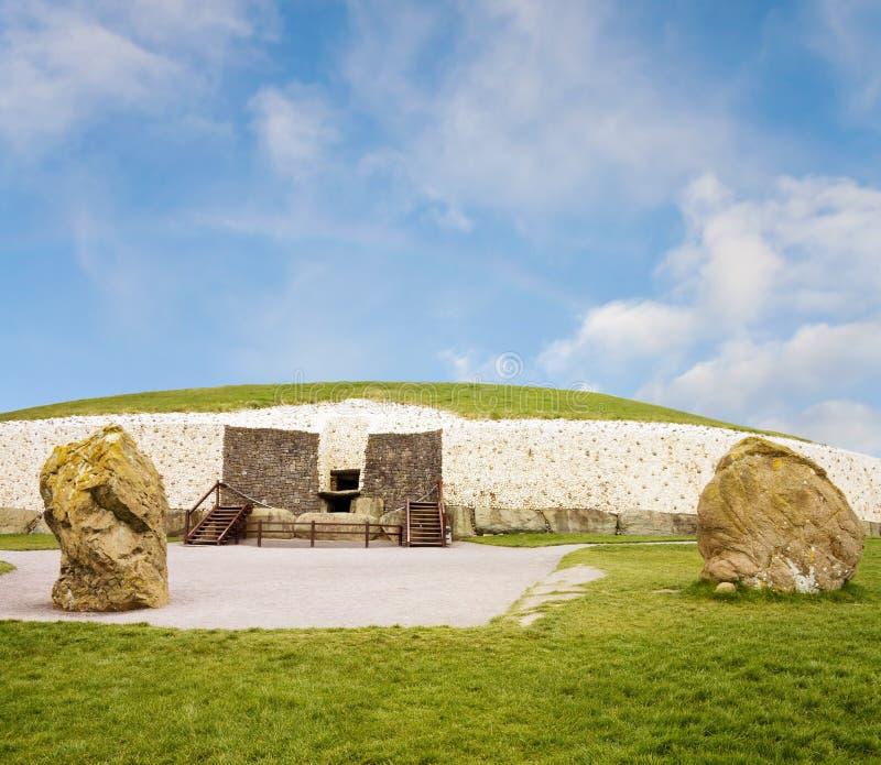 megalithic κόσμος τάφων μεταβάσεων στοκ φωτογραφία με δικαίωμα ελεύθερης χρήσης