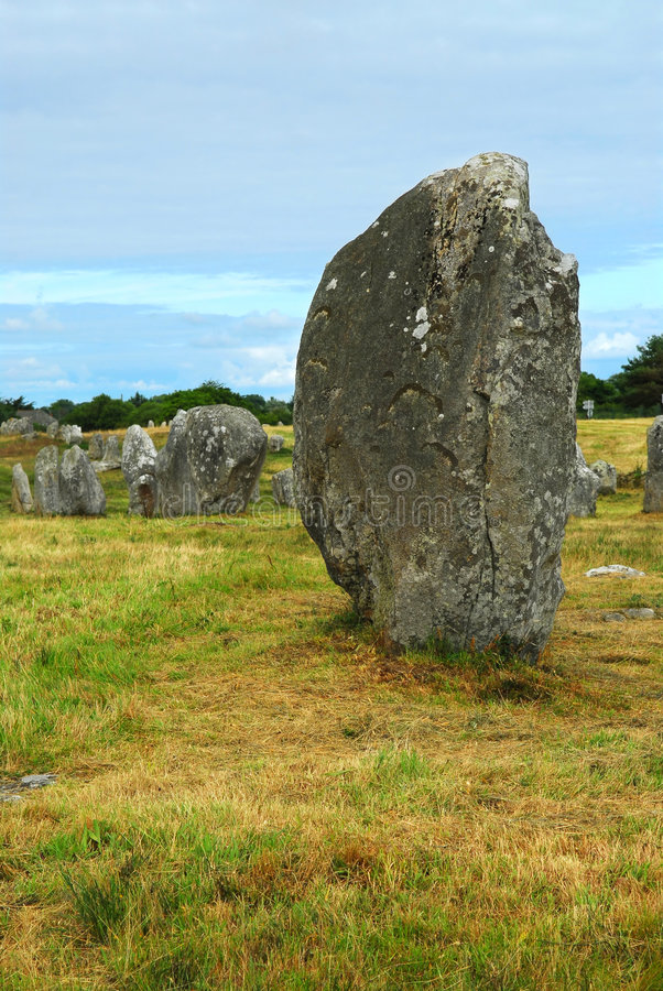 Download Megalithic Monuments In Brittany Stock Photo - Image: 3868256