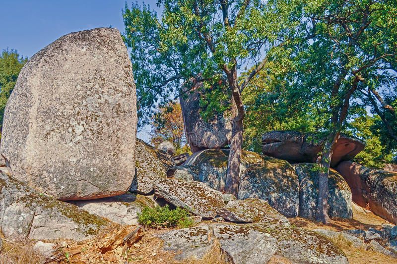 Megaliths stock image
