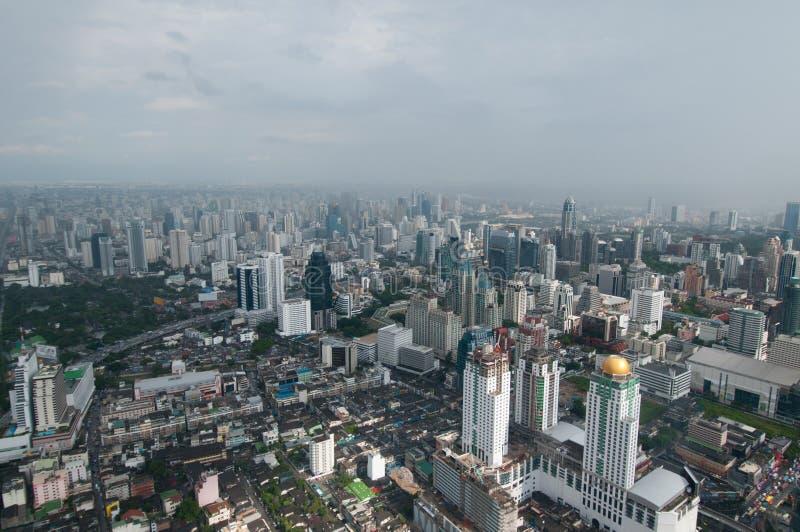 Megalopolis Bangkok royalty-vrije stock foto
