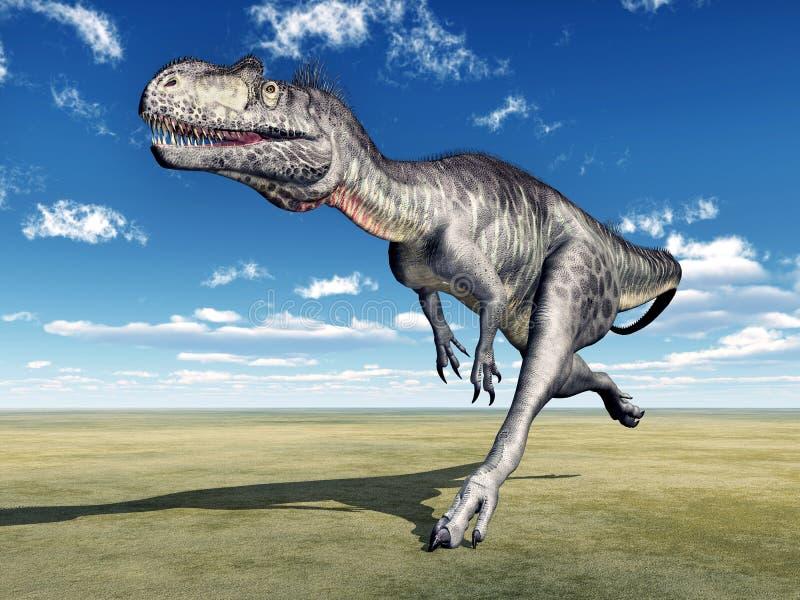 Megalosaurus de dinosaure illustration libre de droits