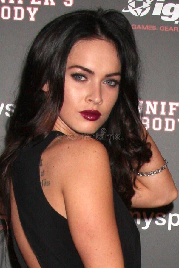 Megan Fox stock fotografie