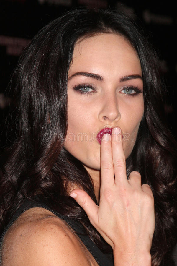 Megan Fox 免版税库存照片