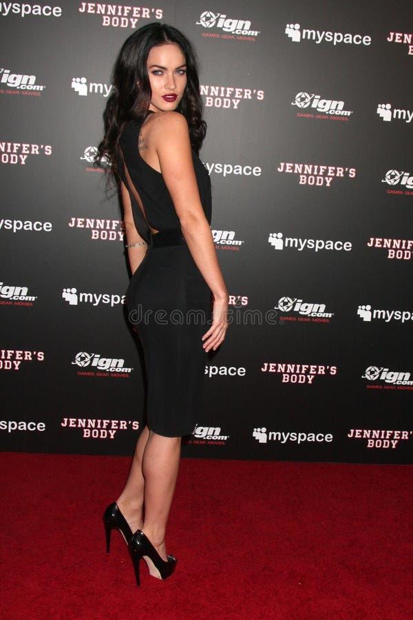Megan Fox images libres de droits