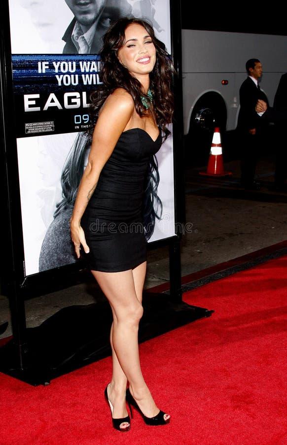 Megan Fox fotografia de stock