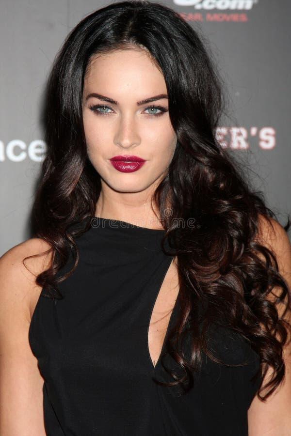 Megan Fox fotografia stock
