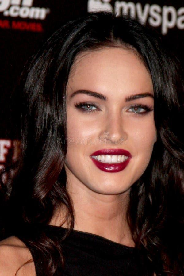 Megan Fox obraz stock