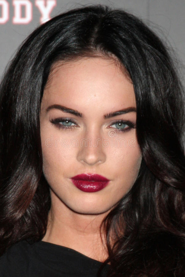 Megan Fox foto de stock