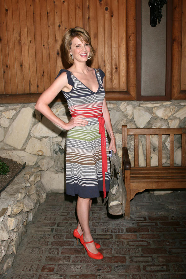 Megan Ward. Arriving at the annual General Hospital Fan Club Luncheon at the Sportsman's Lodge in Studio City, CA on July 12, 2008 stock images