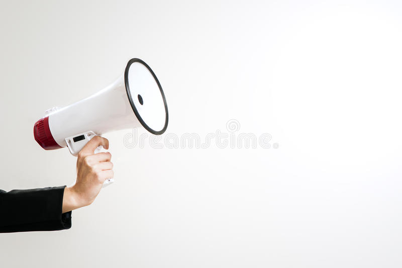 megaphon lizenzfreies stockfoto