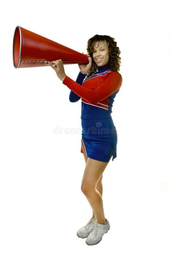 megaphone μαζορετών στοκ εικόνες