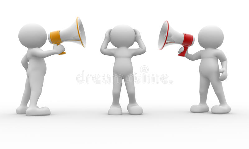 Megaphone stock illustration