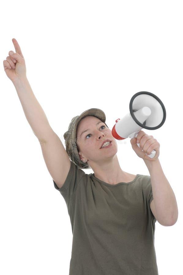 megaphone στοκ φωτογραφίες