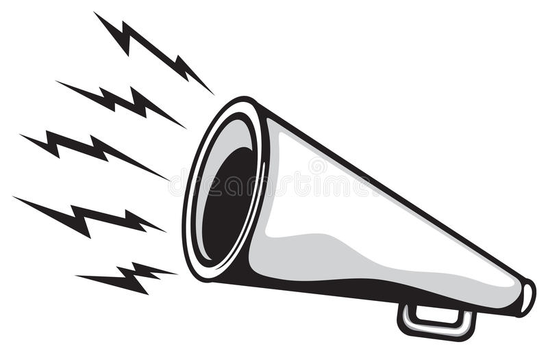 Download Megaphone stock vector. Image of bullhorn, broadcasting - 23810821