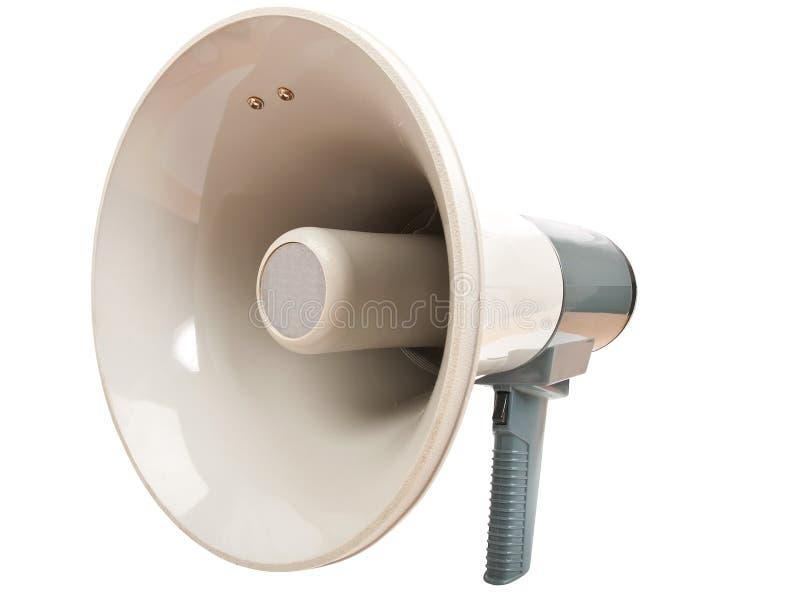 Megaphone. Isolated on white background stock image