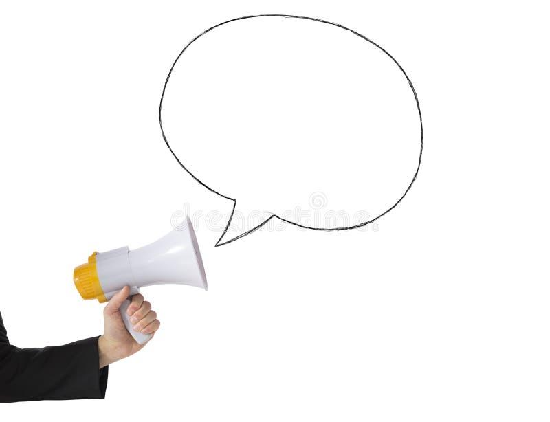 Download Megaphone Message Stock Photo - Image: 30320770
