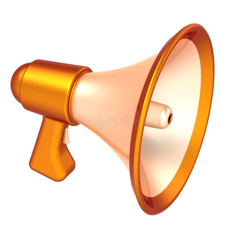 Megaphone news blog communication agitation symbol stock download megaphone news blog communication agitation symbol stock illustration illustration of sound golden publicscrutiny Gallery