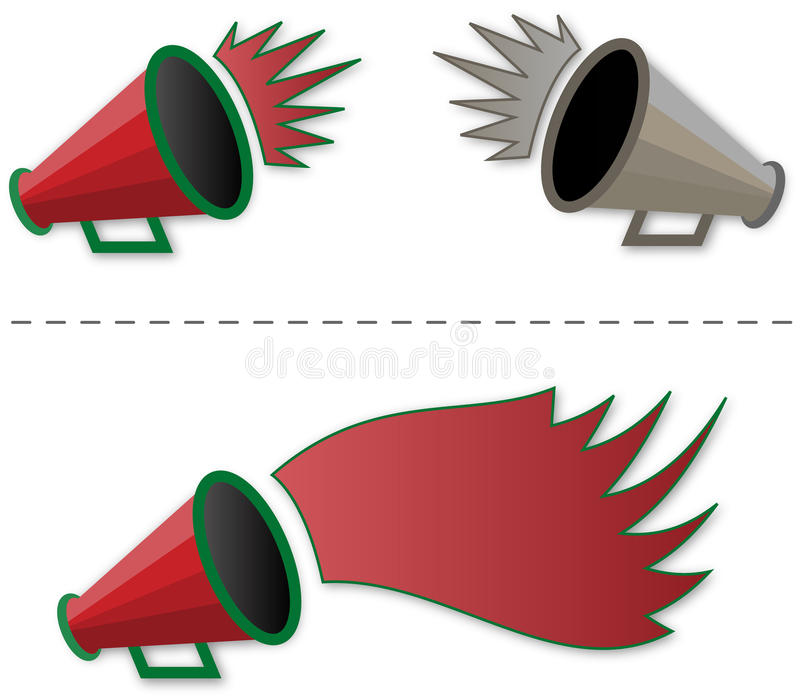 Download Megaphone Shout-out Royalty Free Stock Photo - Image: 13882035
