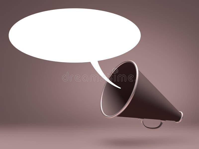 Download Megaphone Speak stock illustration. Image of amplifier - 27344541