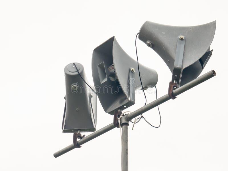 Megaphones, μεγάφωνα στοκ φωτογραφίες