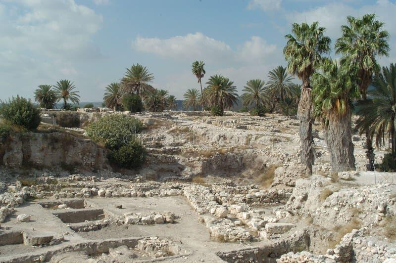 Megiddo, Israël photographie stock