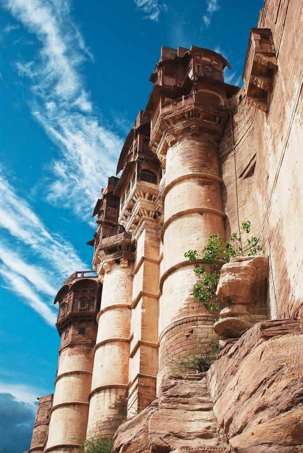 Meharangarh fort stock photography