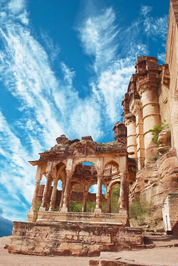 Meharangarh fort stock photo