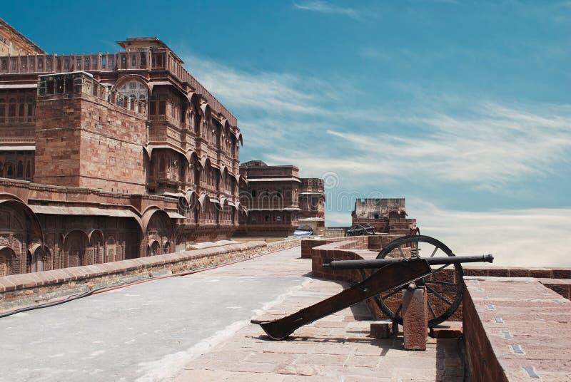 Meharangarh fort royalty free stock photos