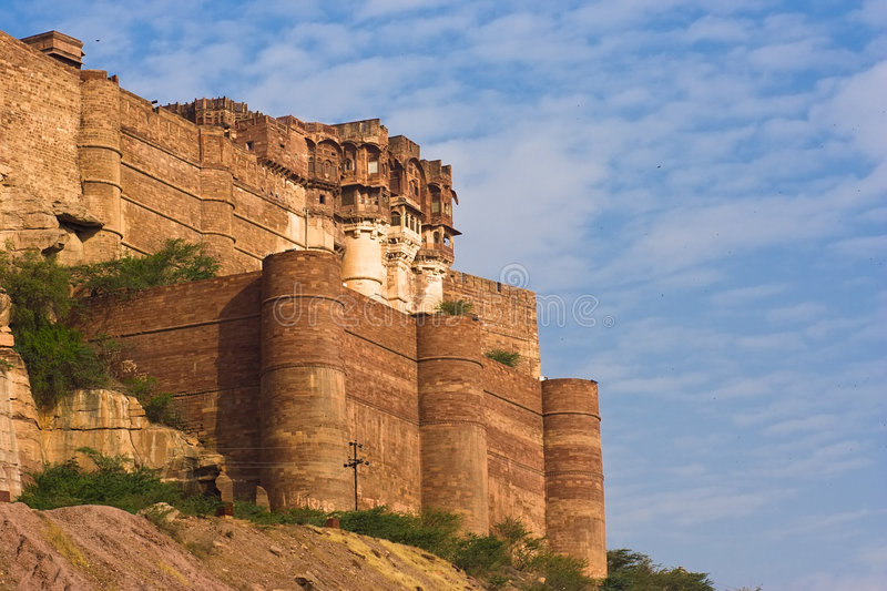 Meherangarh fort royalty free stock photography