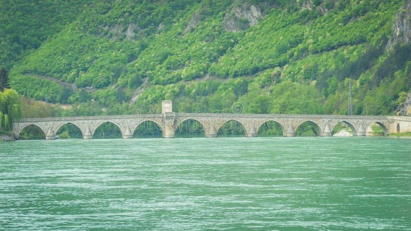 ¡ Mehmed PaÅ мост ‡ SokoloviÄ стоковое фото