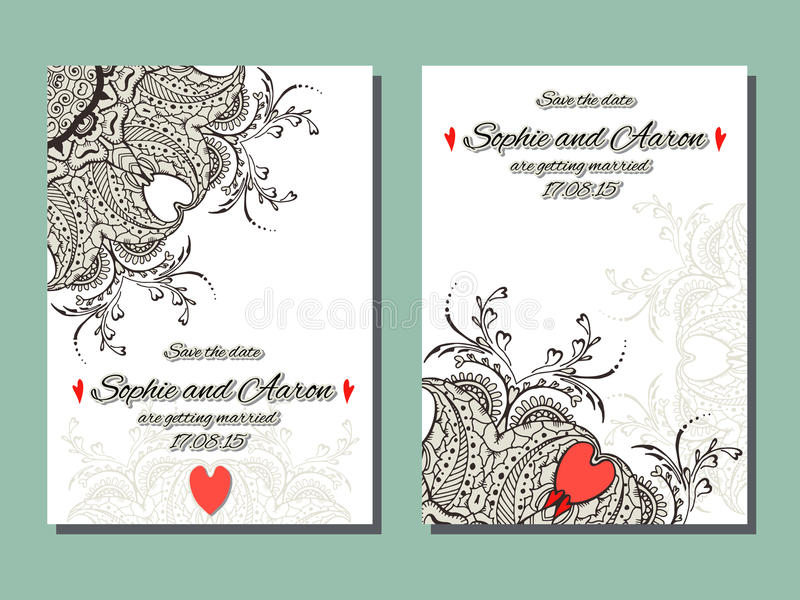 Mehndi flowers card for wedding stock vector illustration of book download mehndi flowers card for wedding stock vector illustration of book ornament 53619922 stopboris Images
