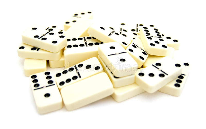 Mehr Dominos lizenzfreies stockfoto