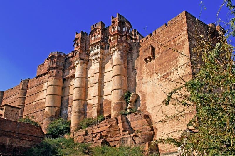 mehrangarh Индии jodhpur форта стоковые изображения