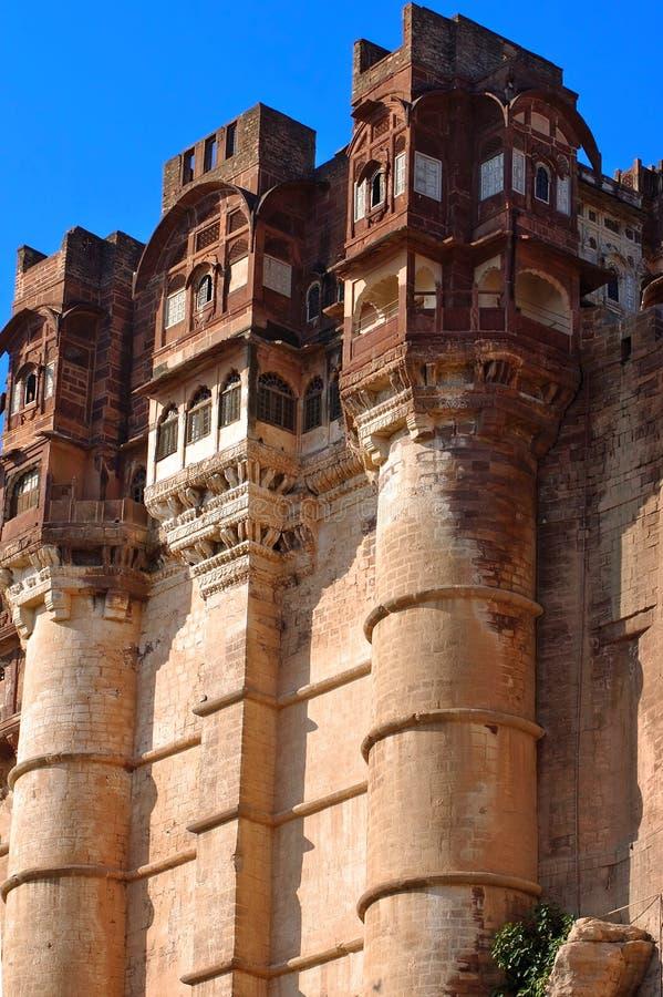 mehrangarh Индии jodhpur форта стоковое фото