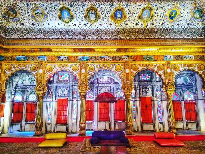 Mehrangarh fort royaltyfria foton