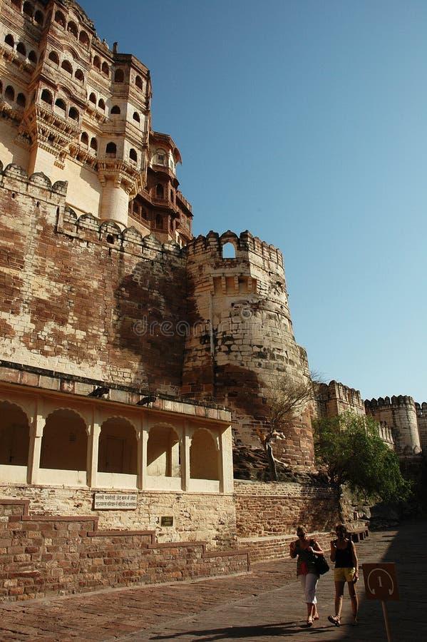 Mehrangarh fort fotografia royalty free