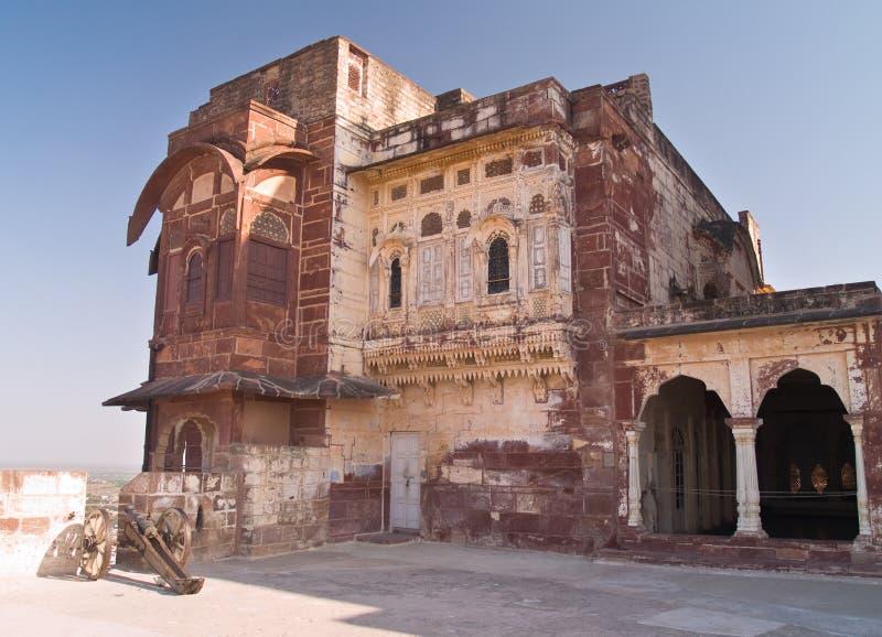 Mehrangarh Fort,Jodhpur royalty free stock photography