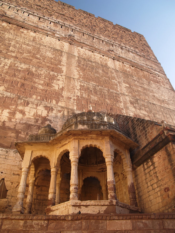 Mehrangarh Fort,Jodhpur royalty free stock photo