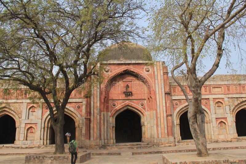Mehrauli trädgård, Indien royaltyfria bilder