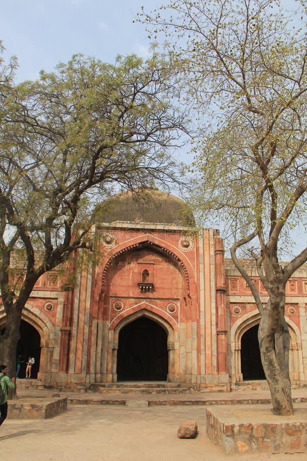 Mehrauli trädgård, Indien royaltyfri fotografi