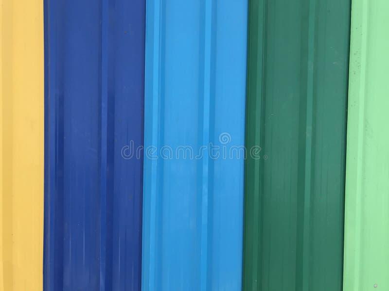Mehrfarbendächer stockbild
