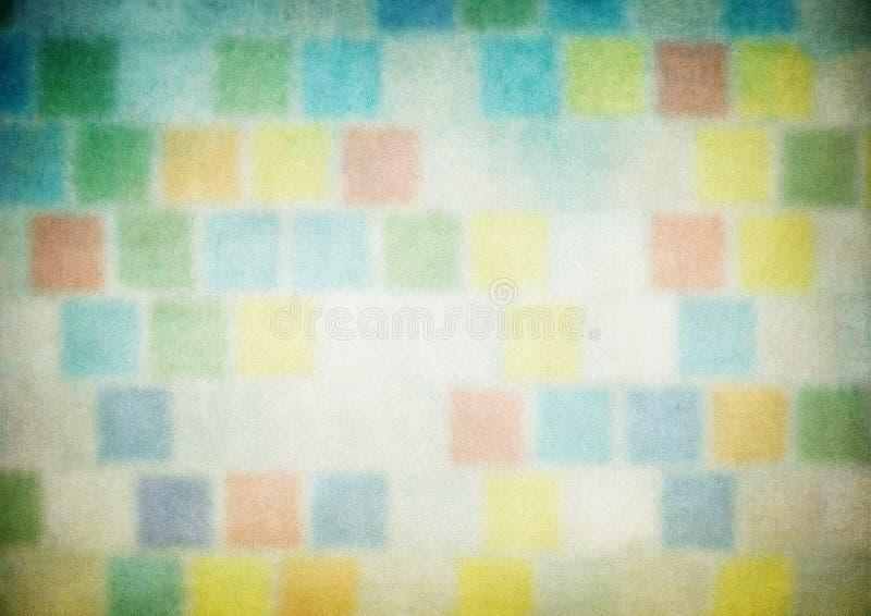 Mehrfarbengrunge flippiger Hintergrund vektor abbildung