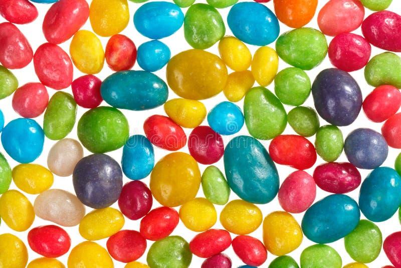 Mehrfarbenbonbonbonbon-Nahrungsmittelhintergrund stockfoto