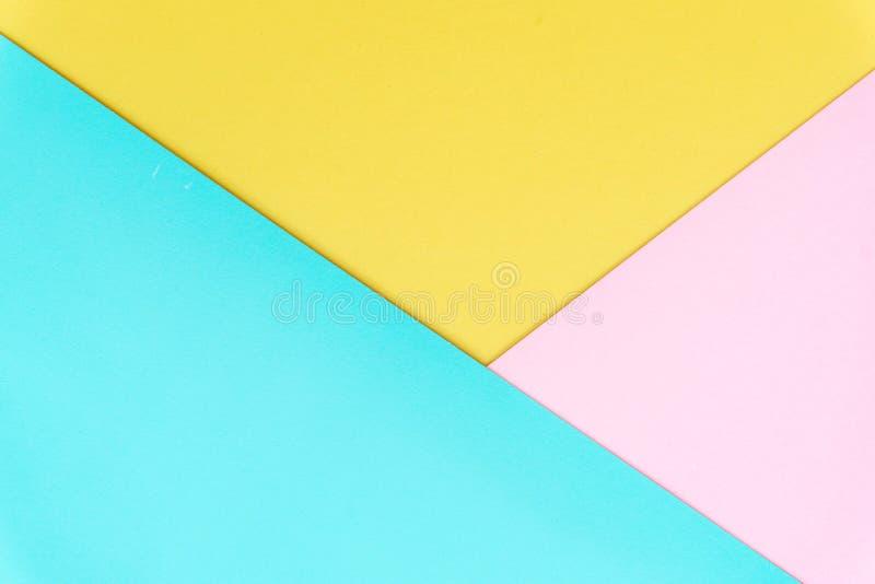 Mehrfarbenhintergrund von einem Papier von verschiedenen Farben stockfoto