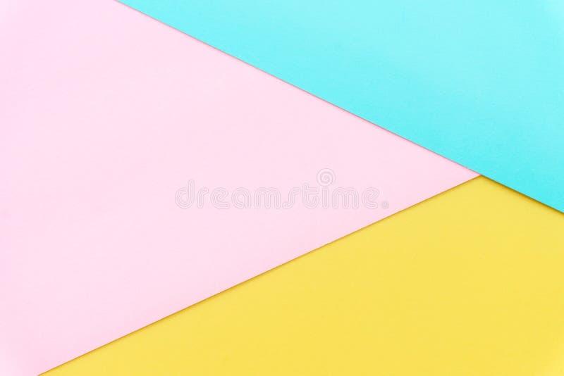 Mehrfarbenhintergrund von einem Papier von verschiedenen Farben stockbilder