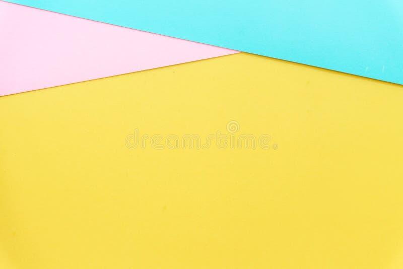 Mehrfarbenhintergrund von einem Papier von verschiedenen Farben lizenzfreie stockfotos