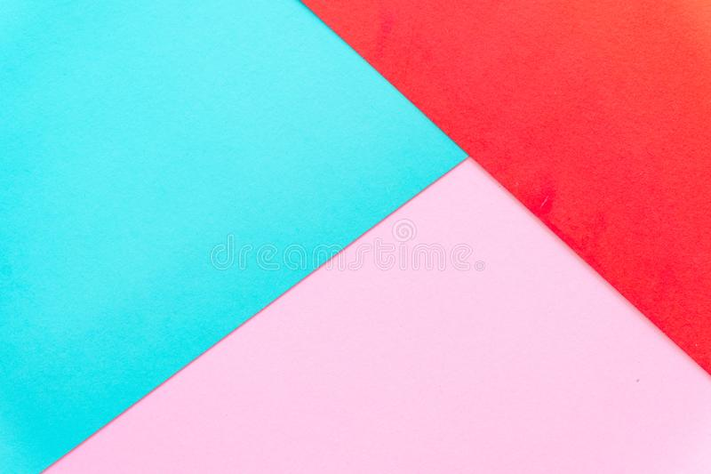 Mehrfarbenhintergrund von einem Papier von verschiedenen Farben lizenzfreie stockfotografie